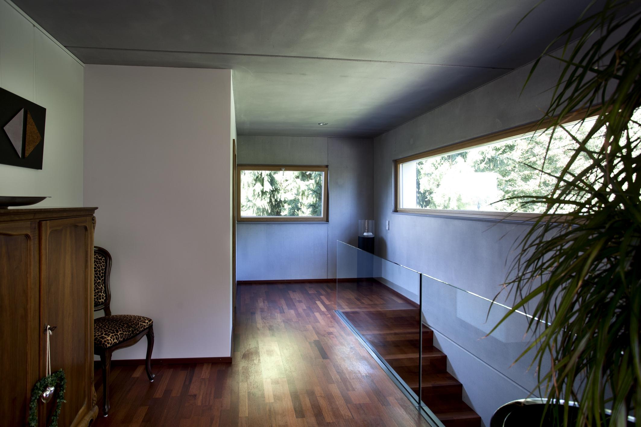 moderner kubus als anbau aluminium holz fenster schaefer markdorf. Black Bedroom Furniture Sets. Home Design Ideas