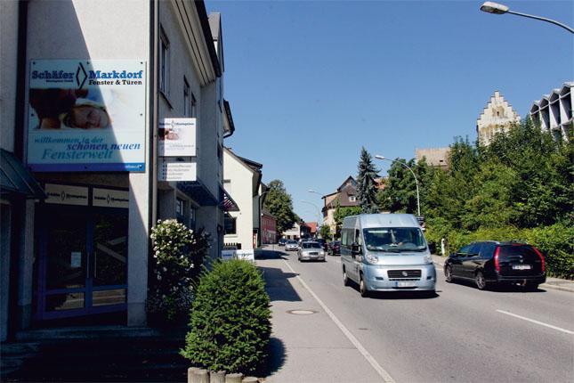 Bundesstraße in Markdorf