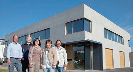 Neubau von Schäfer Fenster und Türen in Markdorf am Bodensee