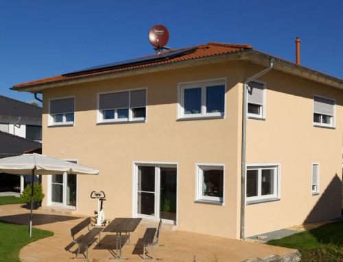 Neubau Einfamilienhaus – Kunststoff-Fenster