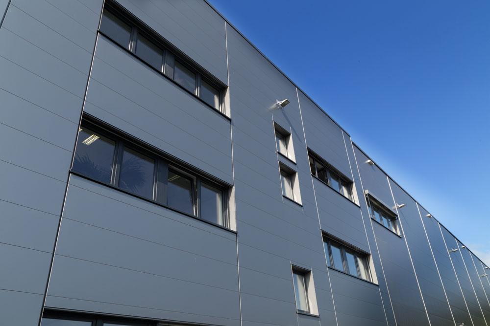 Kunststoff-Fenster Anthrazit