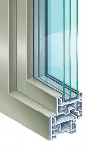 Alu-Kunststoff-Fenster