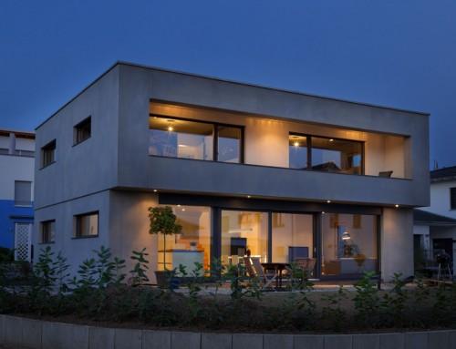 Neubau Einfamilienhaus in Beton