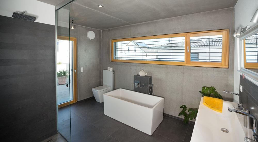 Neubau einfamilienhaus in beton schaefer markdorf - Fenster schallschutzklasse 6 ...