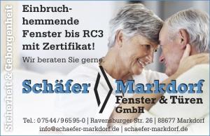 Sicherheit und Geborgenheit mit Schäfer Fenster & Türen Markdorf