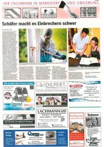 Schäfer macht es Einbrecher schwer - Südkurier Fachmann 2017