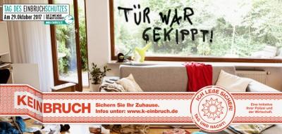 Bundesweite Öffentlichkeitskampagne K-EINBRUCH