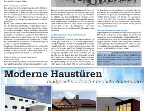 """Moderne Haustüren sagen """"Herzlich willkommen"""""""